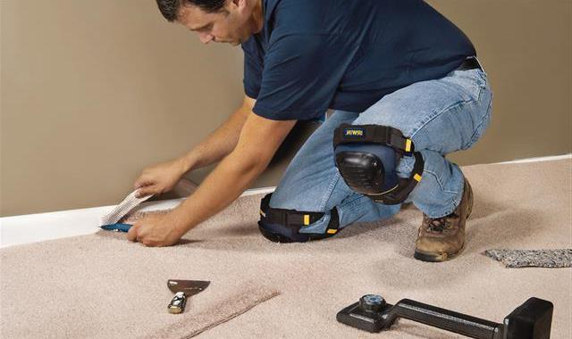 Carpet installation types