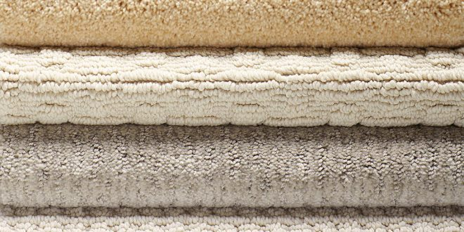 DIFFERENT TYPES OF CARPET : MATERIAL